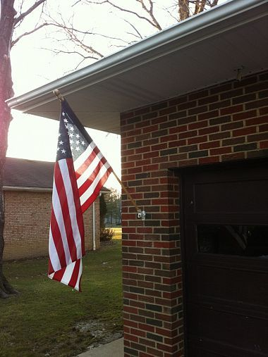 Old Glory Isn T Going Anywhere Now Hanging Flags Old Glory