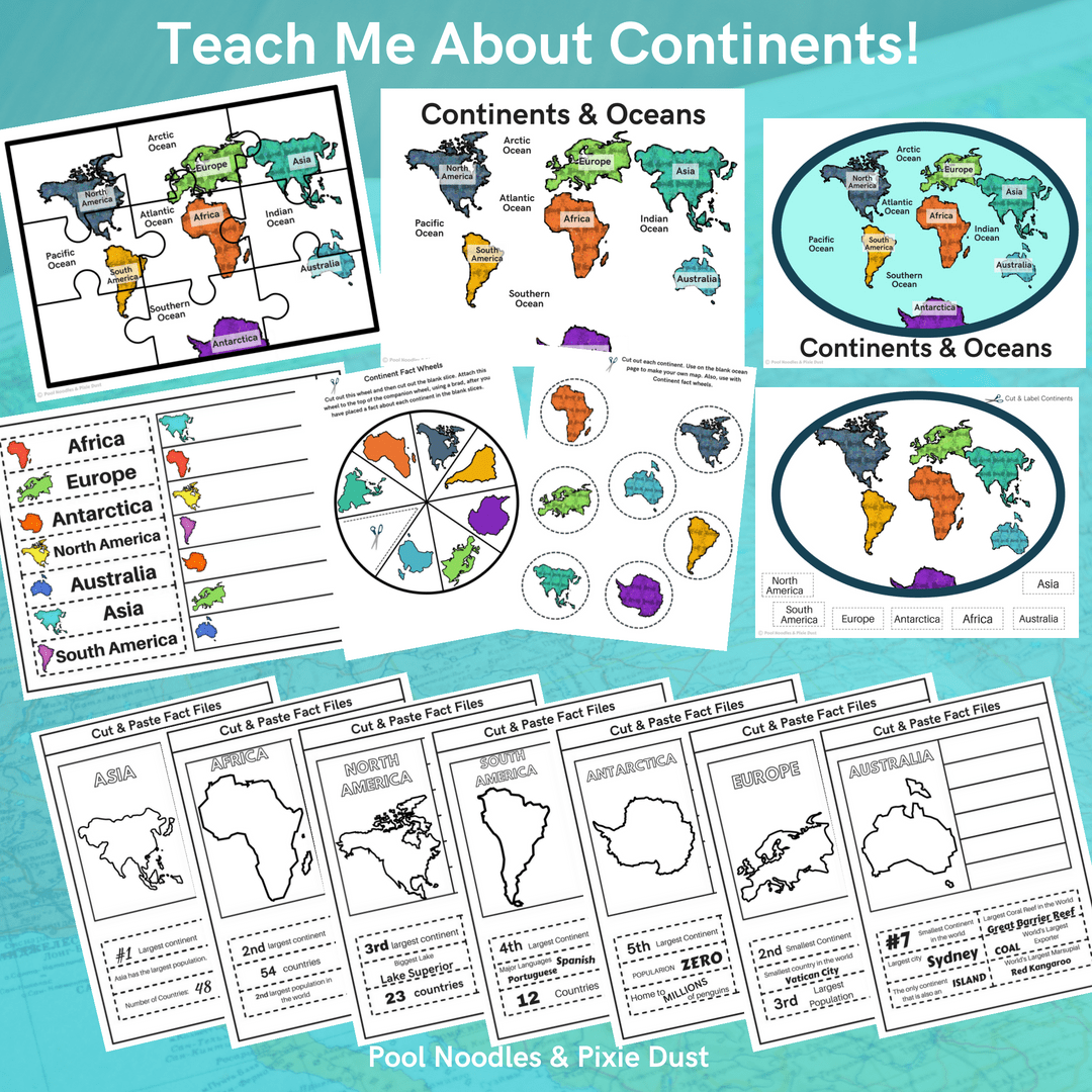 Teach Me About Continents