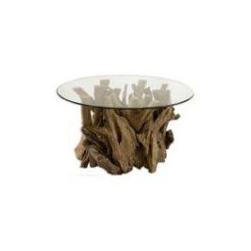 Uttermost Driftwood Cocktail Table In Natural Unfinished Teak - Uttermost driftwood cocktail table