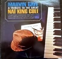 MARVIN GAYE ~ TRIBUTE TO NAT KING COLE ~~ FREE SHIPPING ~~