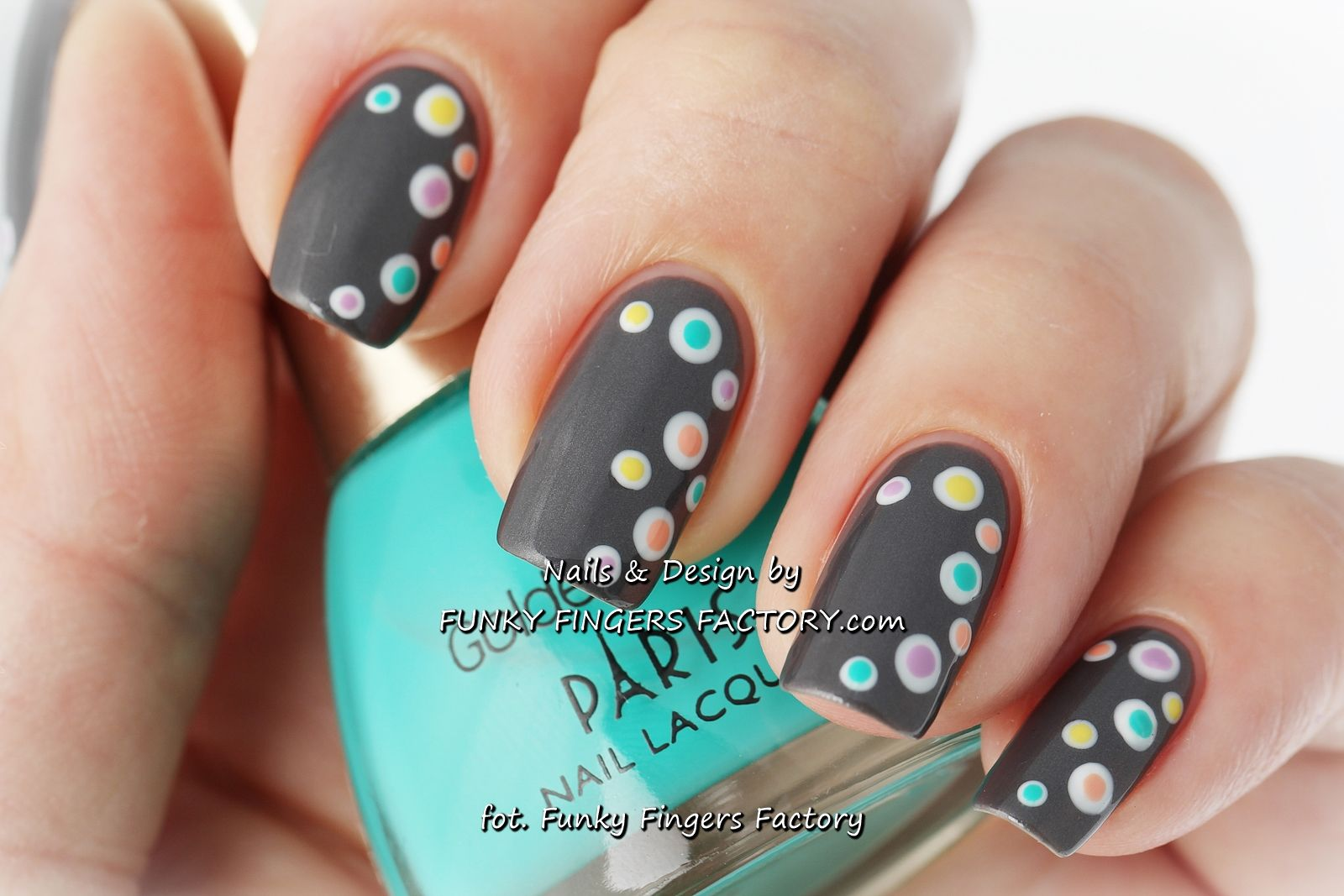www.funkyfingersfactory.com | Nail Art | Pinterest | Nail nail ...