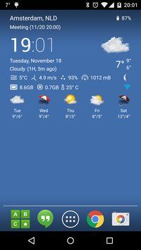 Transparent Clock Weather Pro v0 90 03 08 FULL APK | APKBOO | APK