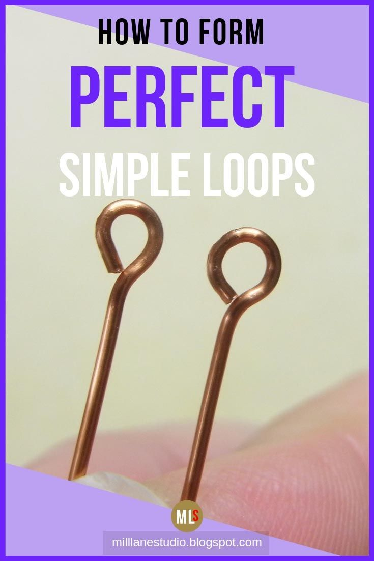 """Photo of Jewellery Know How – Eye Pin Loops – the """"glue"""" that connects your jewellery together"""