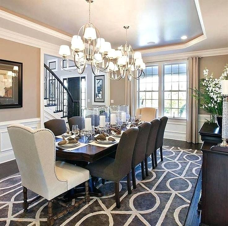 25 Beautiful Neutral Dining Room Designs: Beautiful Chandelier Ideas For Dining Room Design