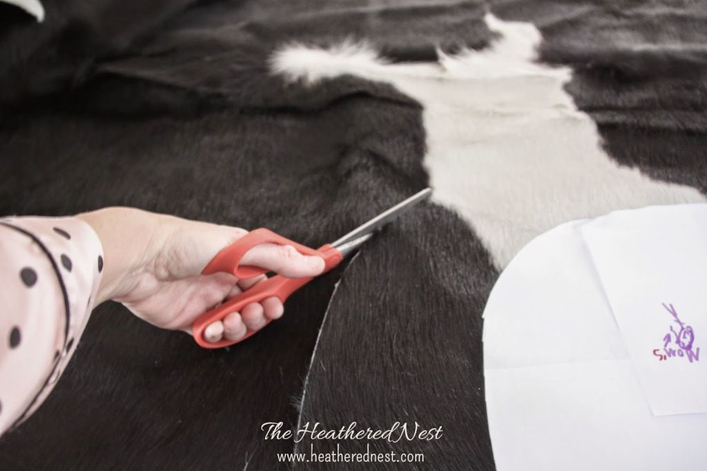 Diy Upholstery With Cowhide Leather Cowhide Furniture