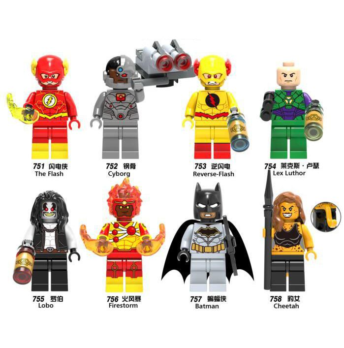 LEGOING Marvel Super Hero Figurki Cheetah Odwrotnej Luthor ...