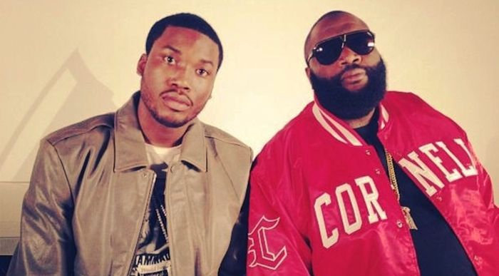 Meek Mill Steps In The Line Of Fire For Ricky Rozay