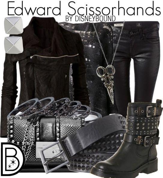 Edward Scissorhands by DisneyBound