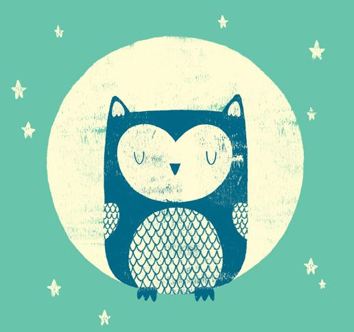 Fawning over the art at www.MonsterRiot.com. This one is called The Moon Owl.