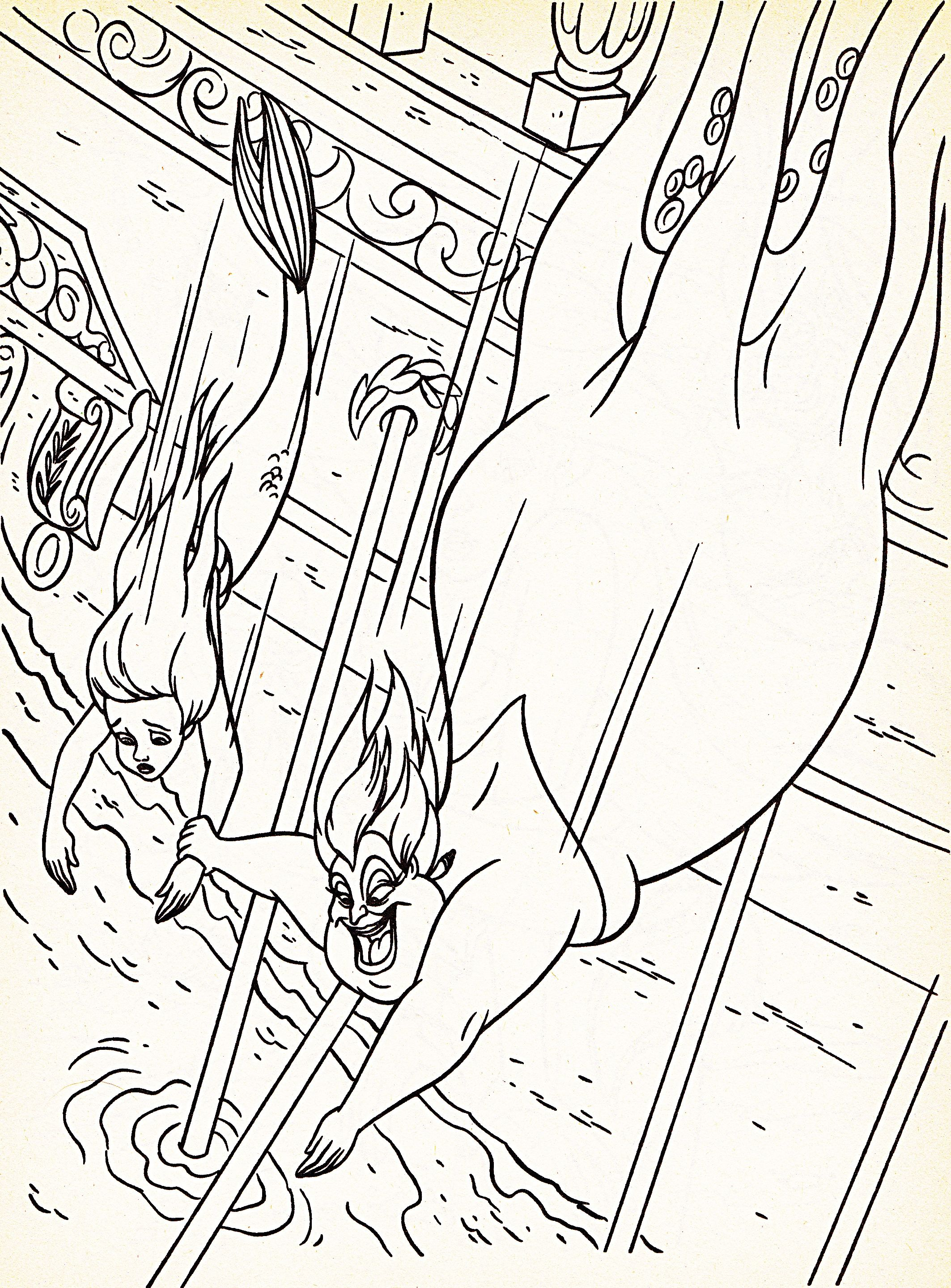 Disney Coloring Pages Printable. Walt Disney Coloring Pages