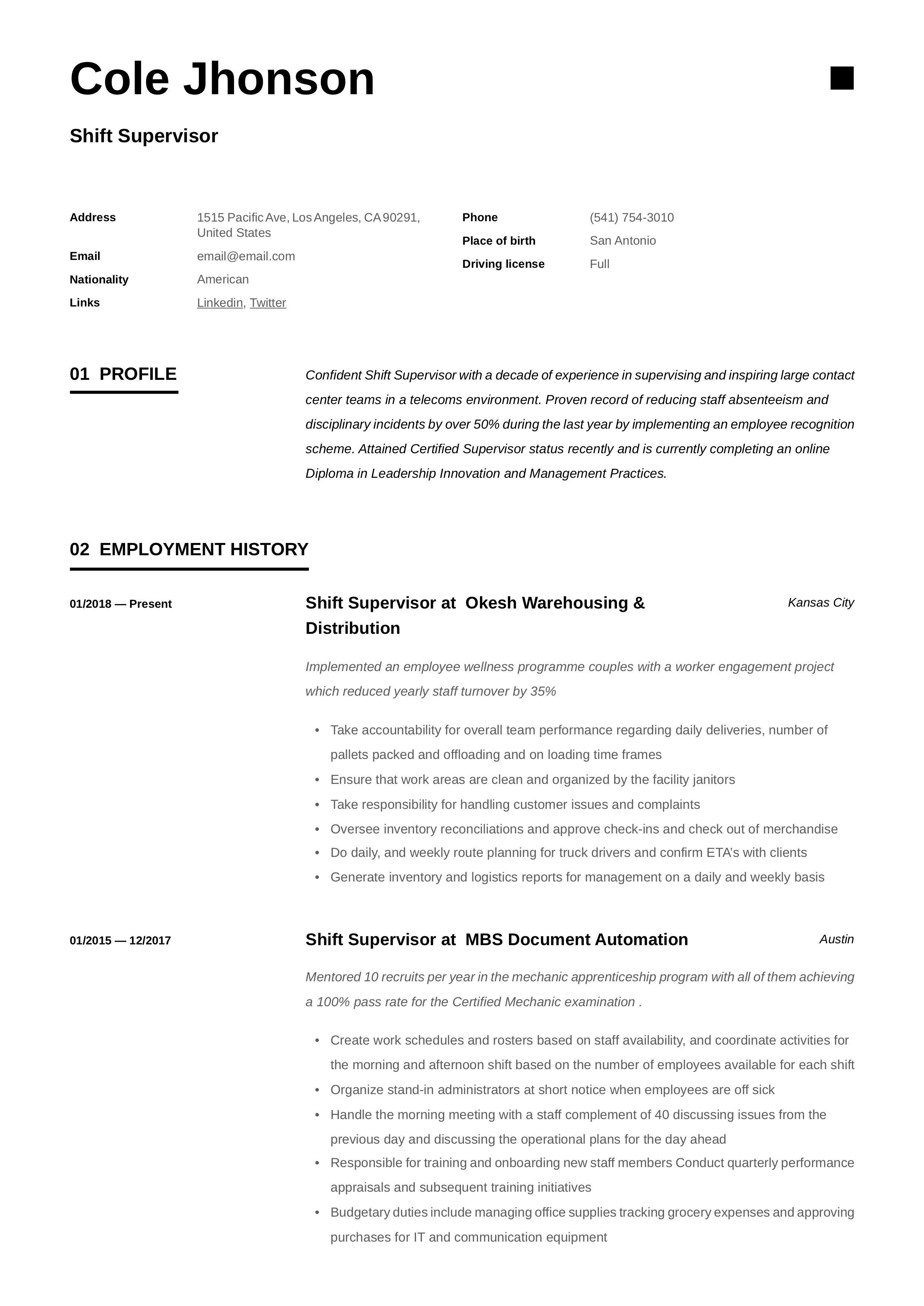 17+ Recruiter resume skills examples ideas in 2021