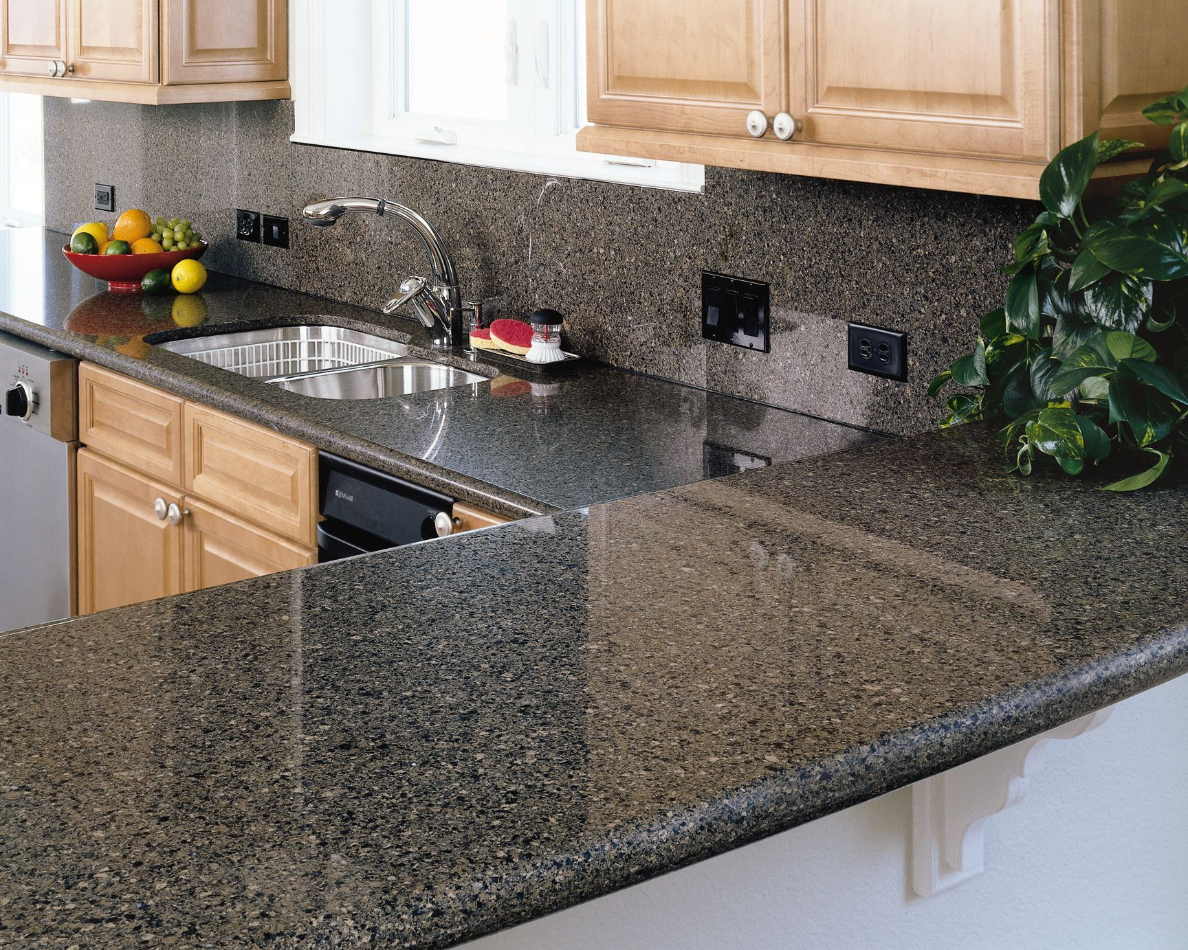 Recycled glass countertops pros and cons - Awesome Recycled Glass Countertops For Amazing Countertop Ideas Chic Kitchen Island With Dark Recycled Glass