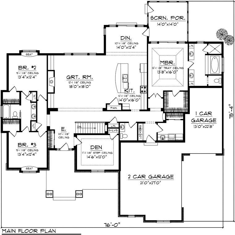 d4446da2c0623425051c589e440c92d6 Ranch House Floor Plan Builder on one car garage, pueblo style, 1800 square foot, indoor pool, 1800 sq ft,
