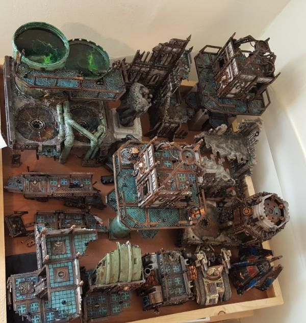 Warhammer 40k city industrial buildings forum for Decor 40k