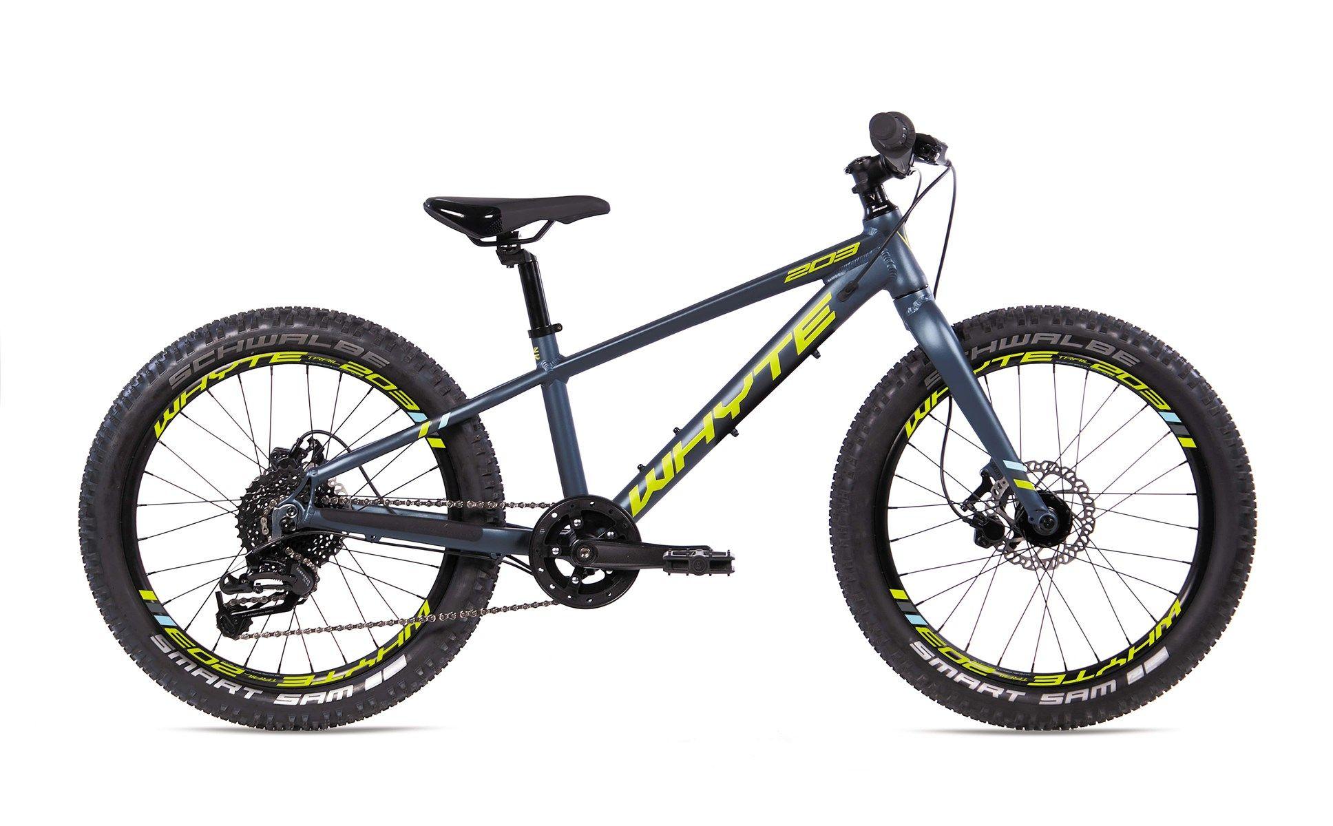 Whyte 203 V1 2019 Kids Mountain Bike Midnight/Lime