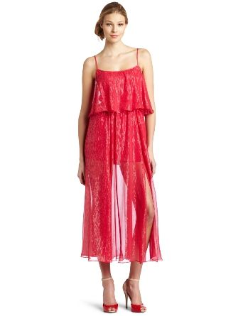 Completely Obsessed.-Halston Heritage Women's Tiered Gown: Clothing