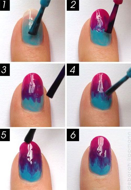 Unique Simple Nail Designs At Home Photos - Home Decorating Ideas ...