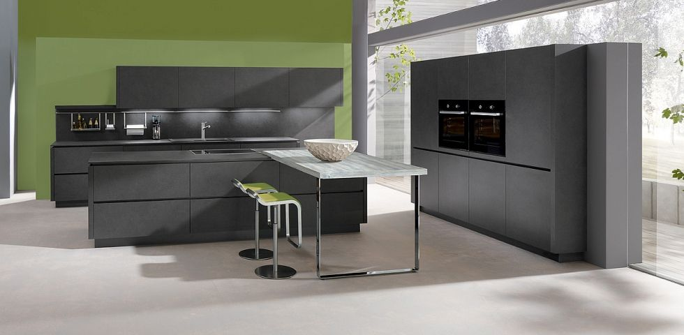 Best Napoli Lava Grey Wi2 398 In Line Kitchens From In Toto 640 x 480
