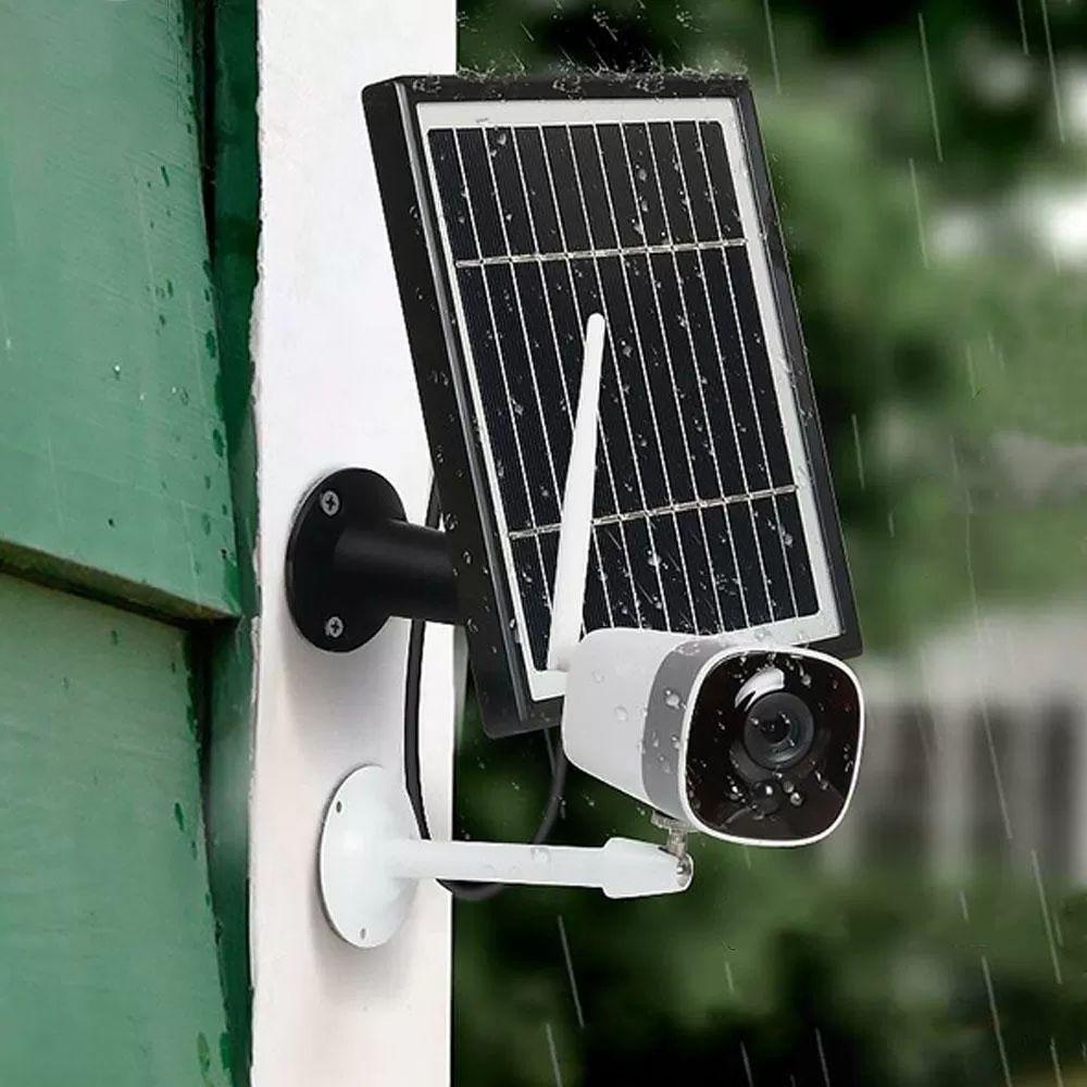 Xiaovv Dc05f Hd 1080p Battery Solar Power Camera Ap Hot Spot Outdoor Wireless Waterproof Security Ip Camera Solar Battery Ip Camera Wireless Home Security Cameras