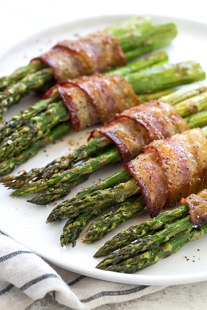 Bacon Wrapped Asparagus | The Recipe Critic
