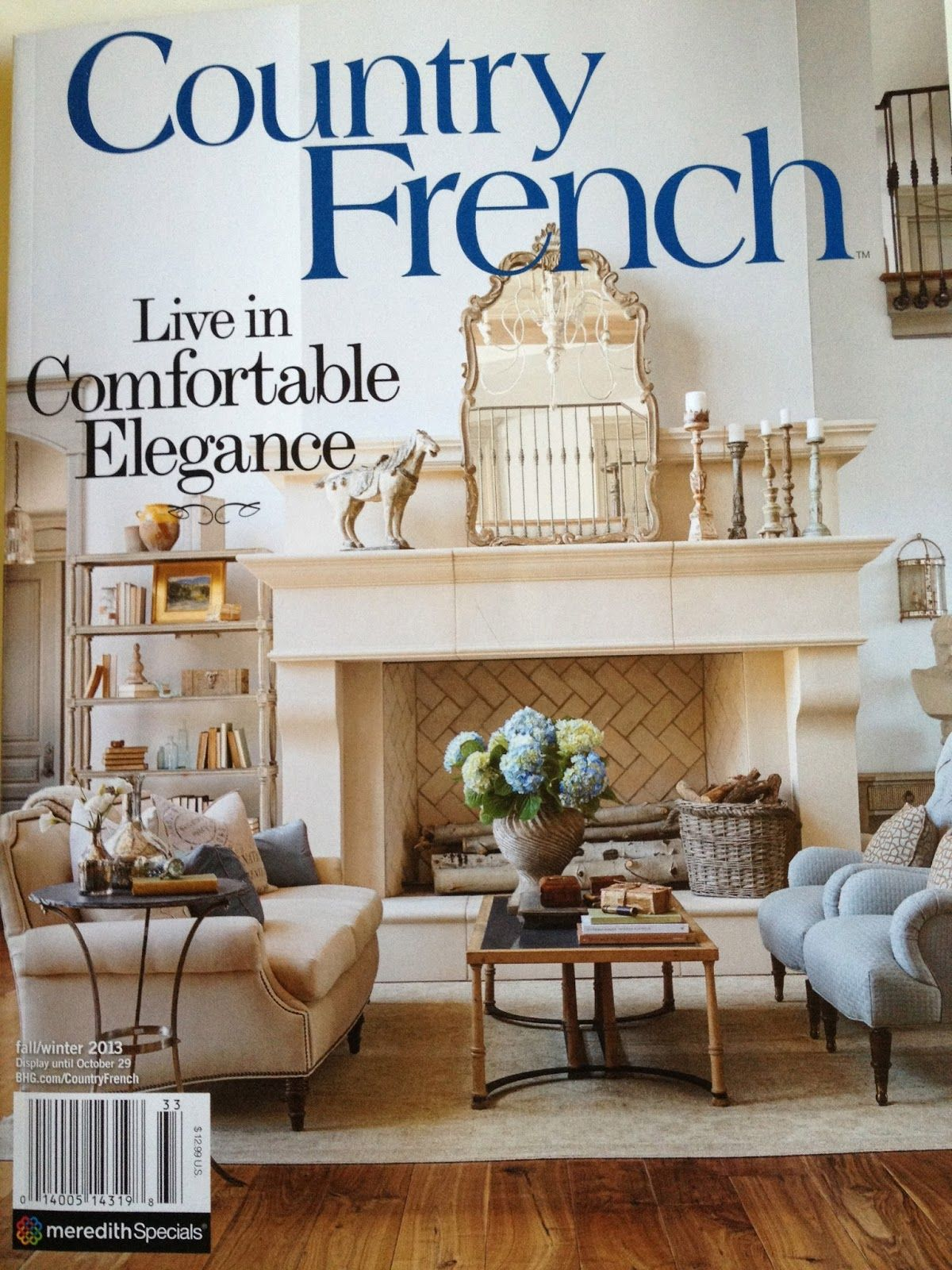 vignette design: Country French Magazine | French Country ...