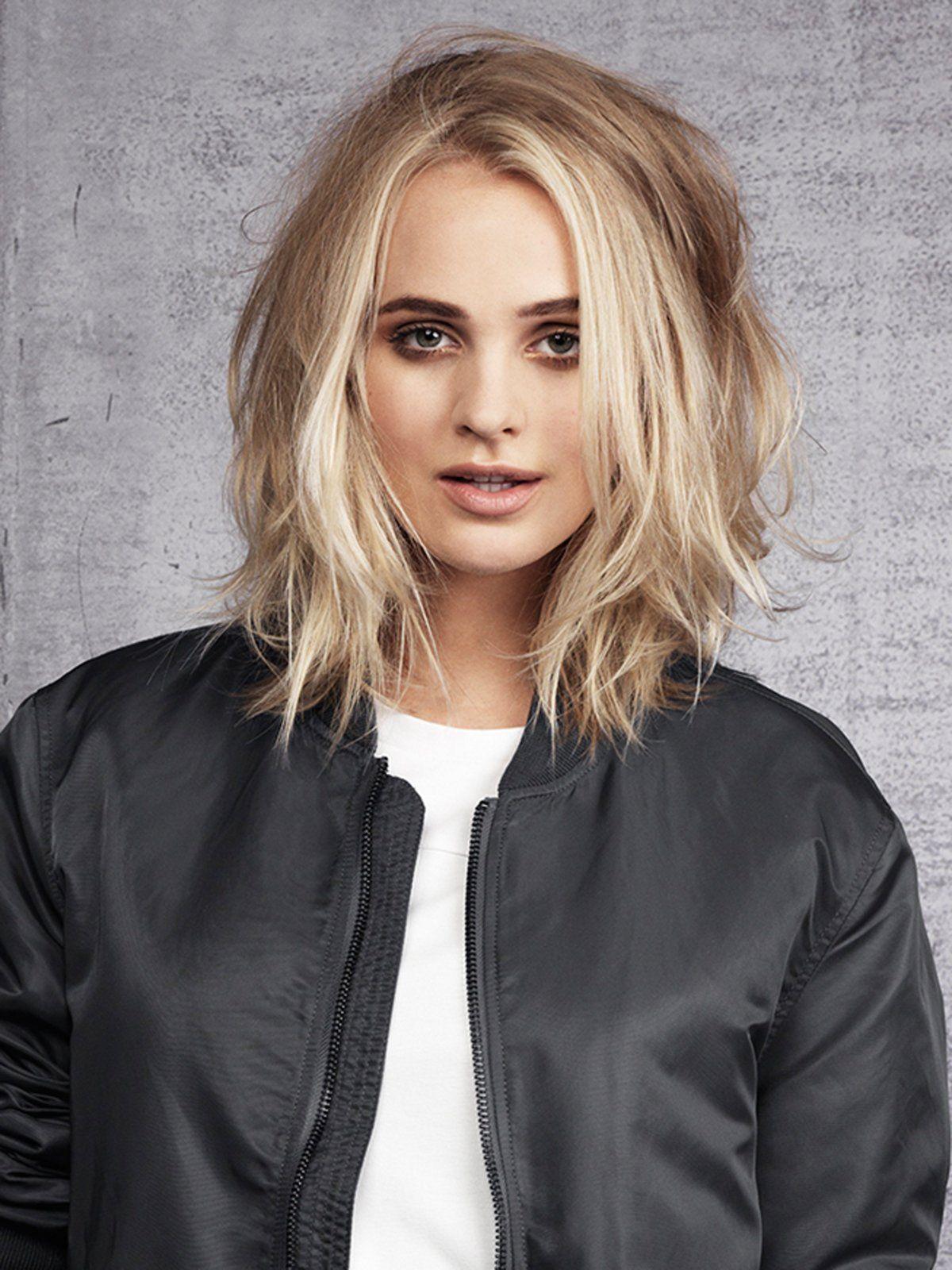 Mittellange Frisurentrends 2018 Haare Pinterest Bobs Haircuts