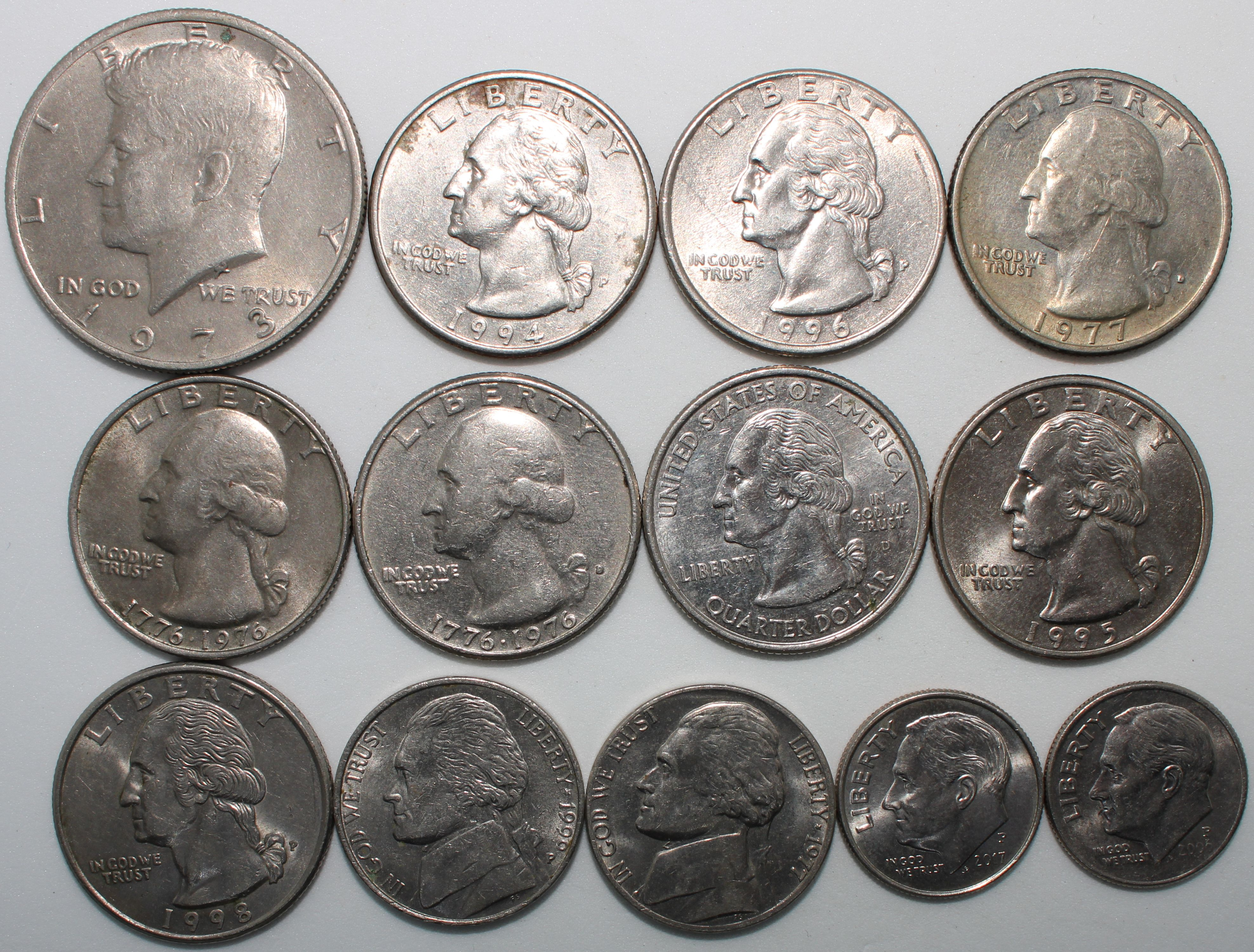 Collection Of U S A Coins Bulk
