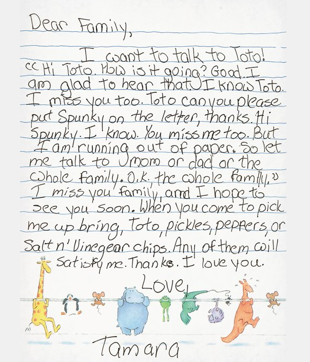 Hilariously Desperate Letters From Kids At Summer Camp  Babble