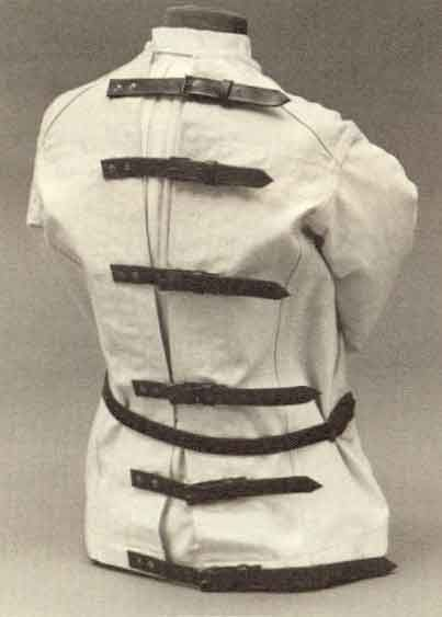 Straight Jacket - Back | Strait Jacket Costume | Pinterest ...