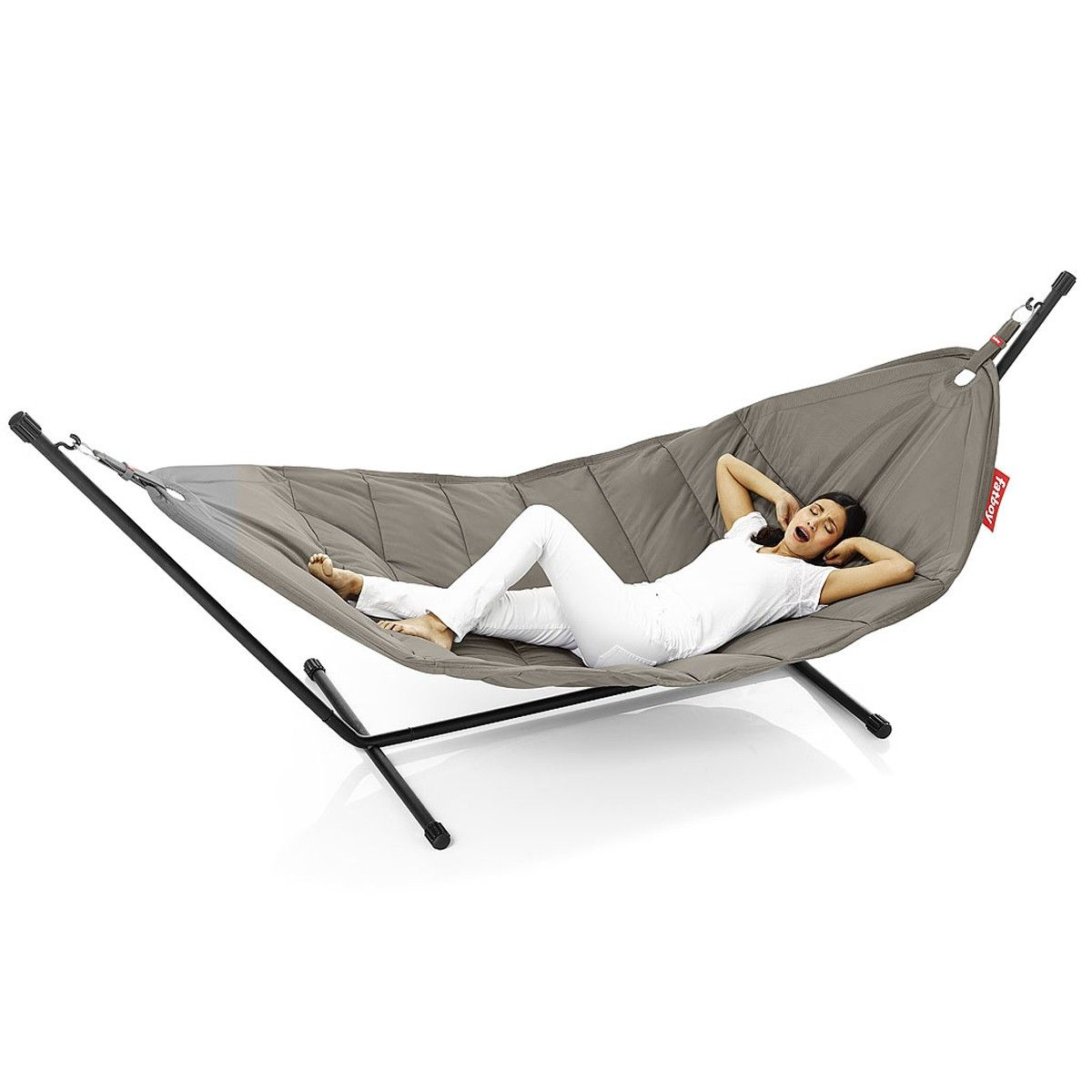 headdemock hammock taupe by fatboy   design furniture and decoration with made in design fat boy   headdemock  taupe    home ideas   pinterest   hammock      rh   pinterest