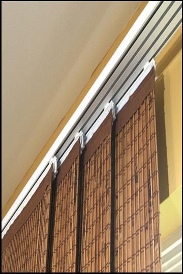 Sliding Panel Track Blinds: Sliding Door Window Treatments, Sliding