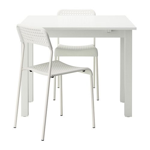 Bjursta Adde Mesa E 2 Cadeiras Branco Furniture Pinterest
