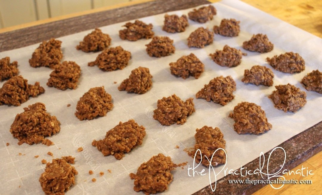 No Bake Cookies - The Practical Fanatic