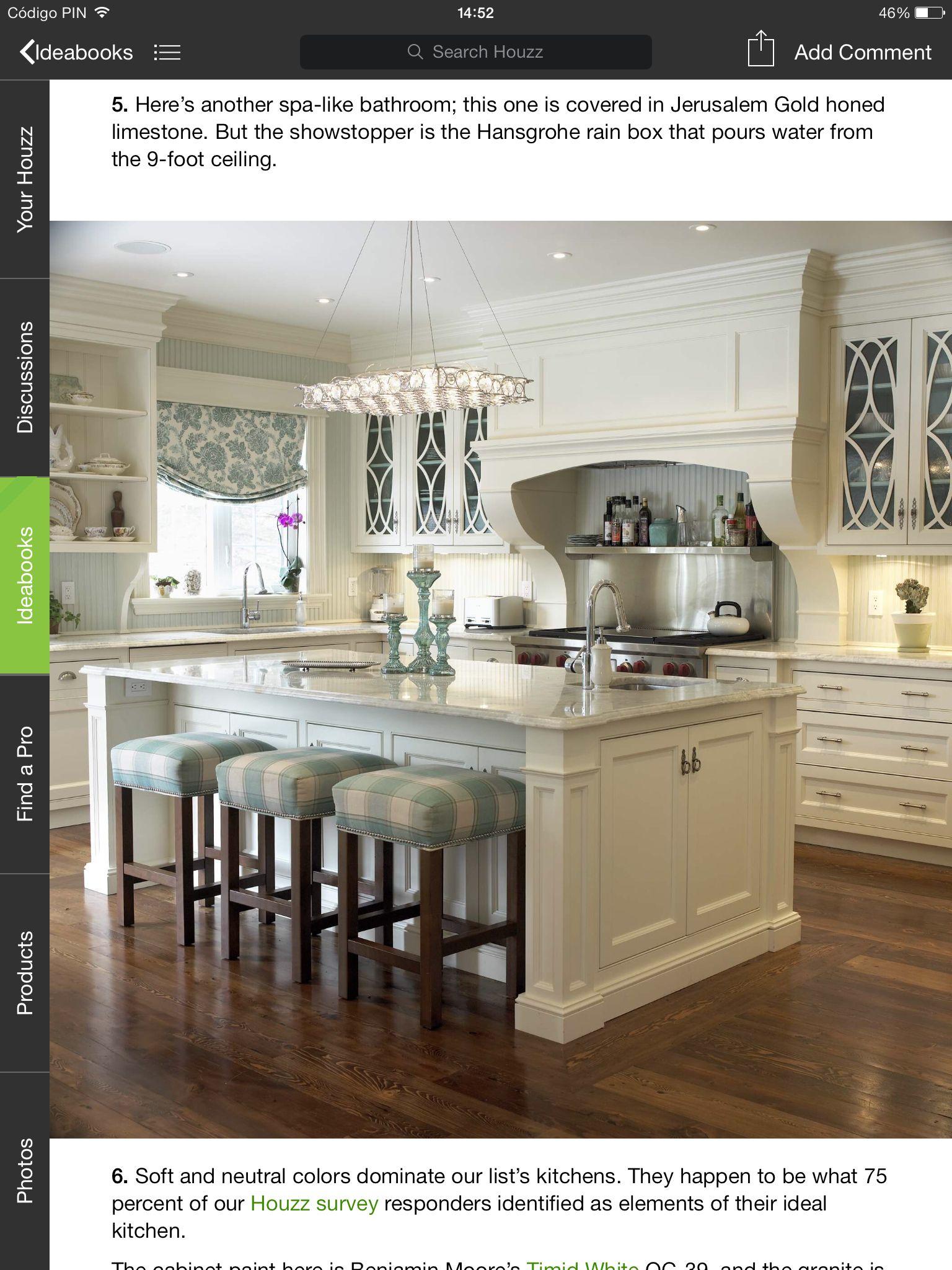Suelo oscuro y muebles blancos | Cocinas | Pinterest | Suelo oscuro ...