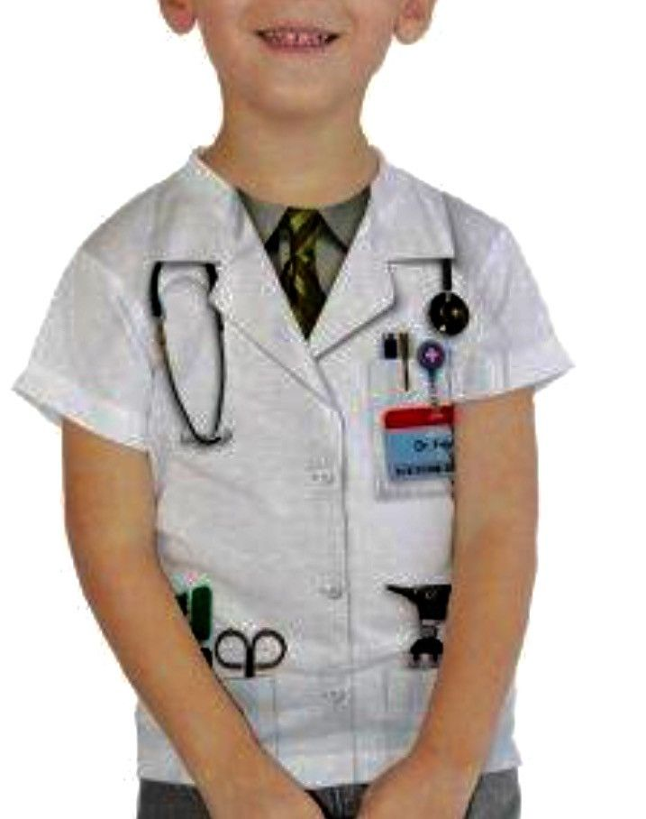 Halloween costume doctor career shirt kids dress up seasons halloween costume doctor career shirt kids dress up seasons bazaar australia negle Image collections