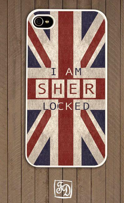 British Fandom Tardis Union Jack iphone case
