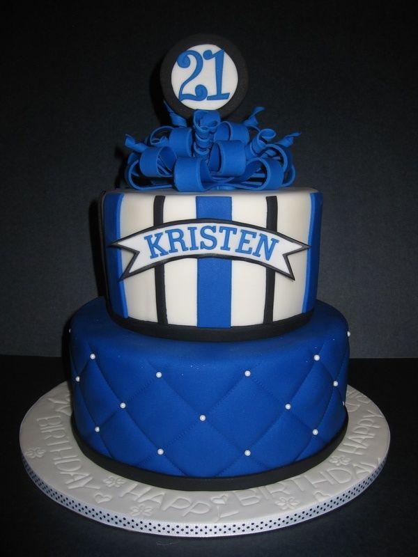 Kristen S 21st Birthday Cake Cake Designs Decorations