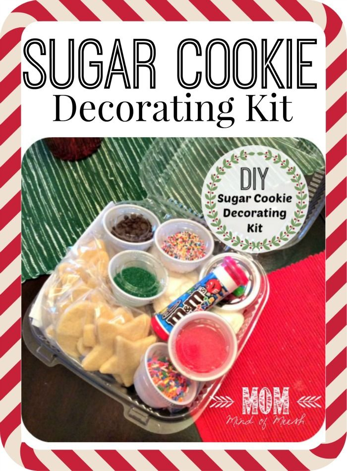 make your own sugar cookie decorating kit for any holiday or occasion tutorial included