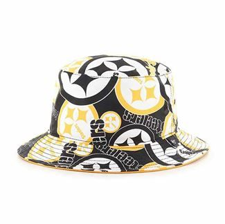 3855d865021 Show details for Pittsburgh Steelers  47 Brand Bravada Bucket Hat ...