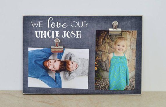 Personalized Uncle Photo Frame Birthday Gift For Custom Picture Pi