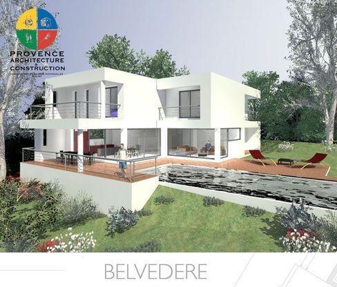 Modèle de maison BELVEDERE -  Retrouvez tous les types de maison à - faire une extension de maison
