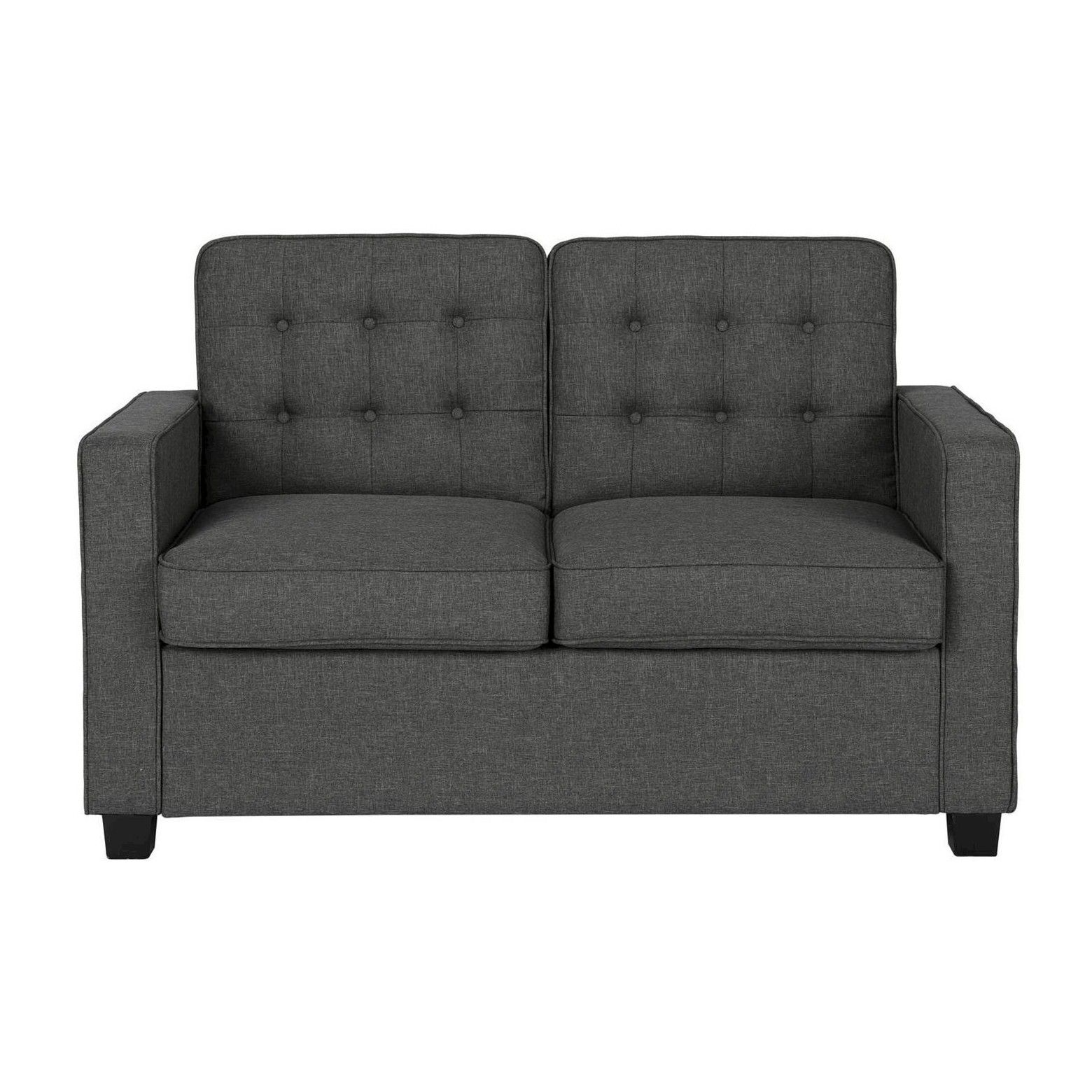 Beautiful With Its Grey Linen Upholstery, Tufted Back And Cool Modern Lines, The  Avery Sleeper Design Ideas