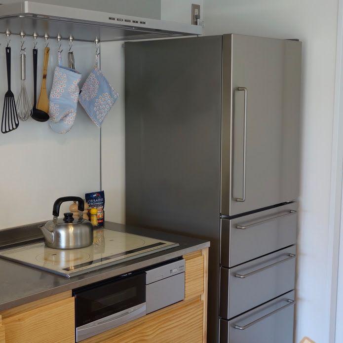 こんにちは宗太 Sota Chokin です みなさんはどんな冷蔵庫を使っていますか 毎日必ず使う家電なのでそれぞれこだわりがあるんじゃないでしょうか 僕は 無印良品 電気冷蔵庫 355l ステンレス を使っています こだわっていたのはもちろんデザイン 見た