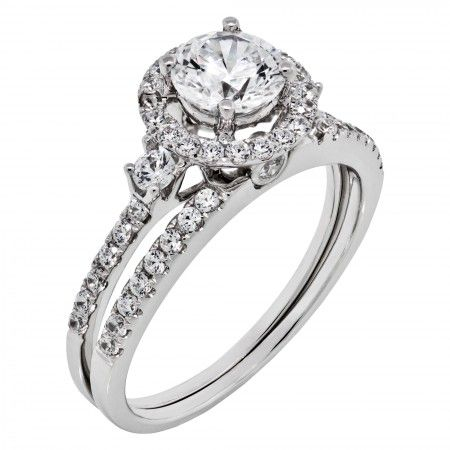 Engagement Rings Solitare Accent