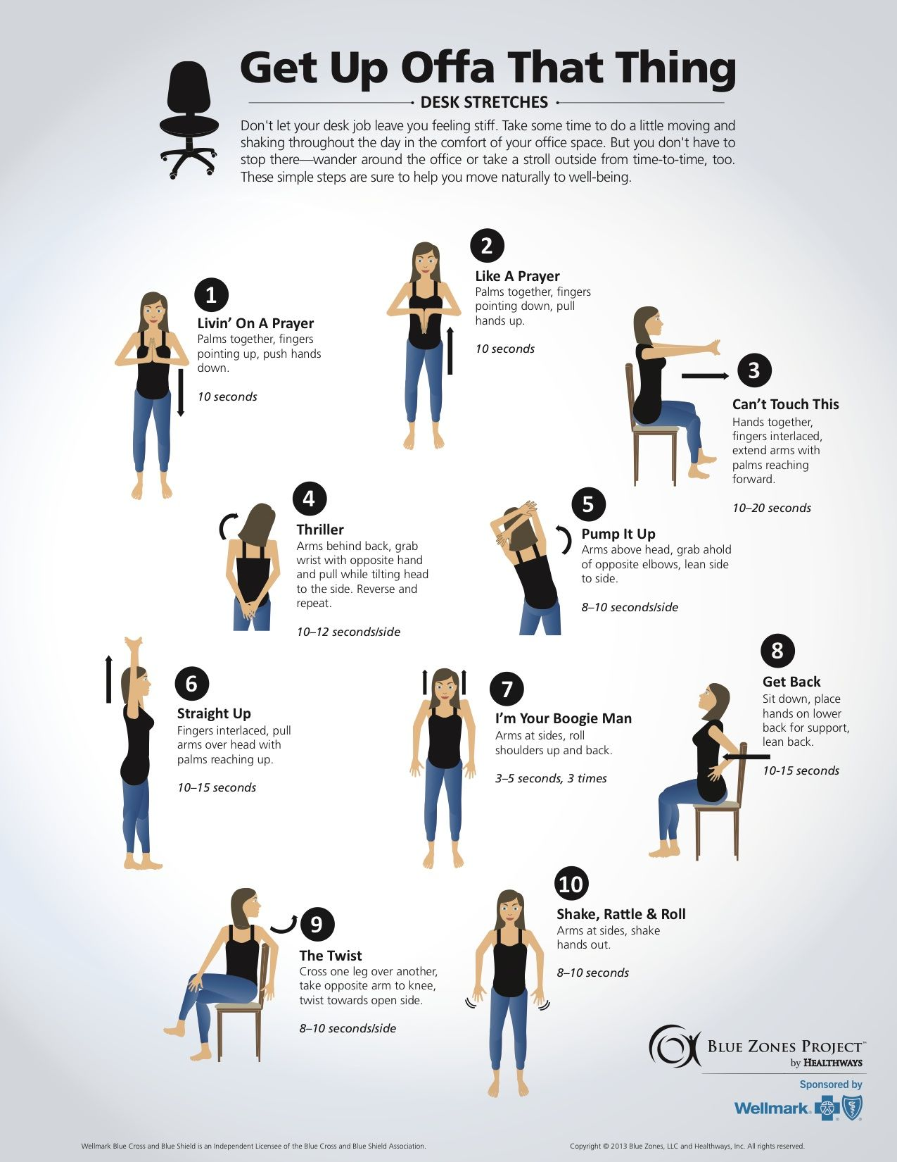 Wellness for Life Chiropractic DESK STRETCHES 2015
