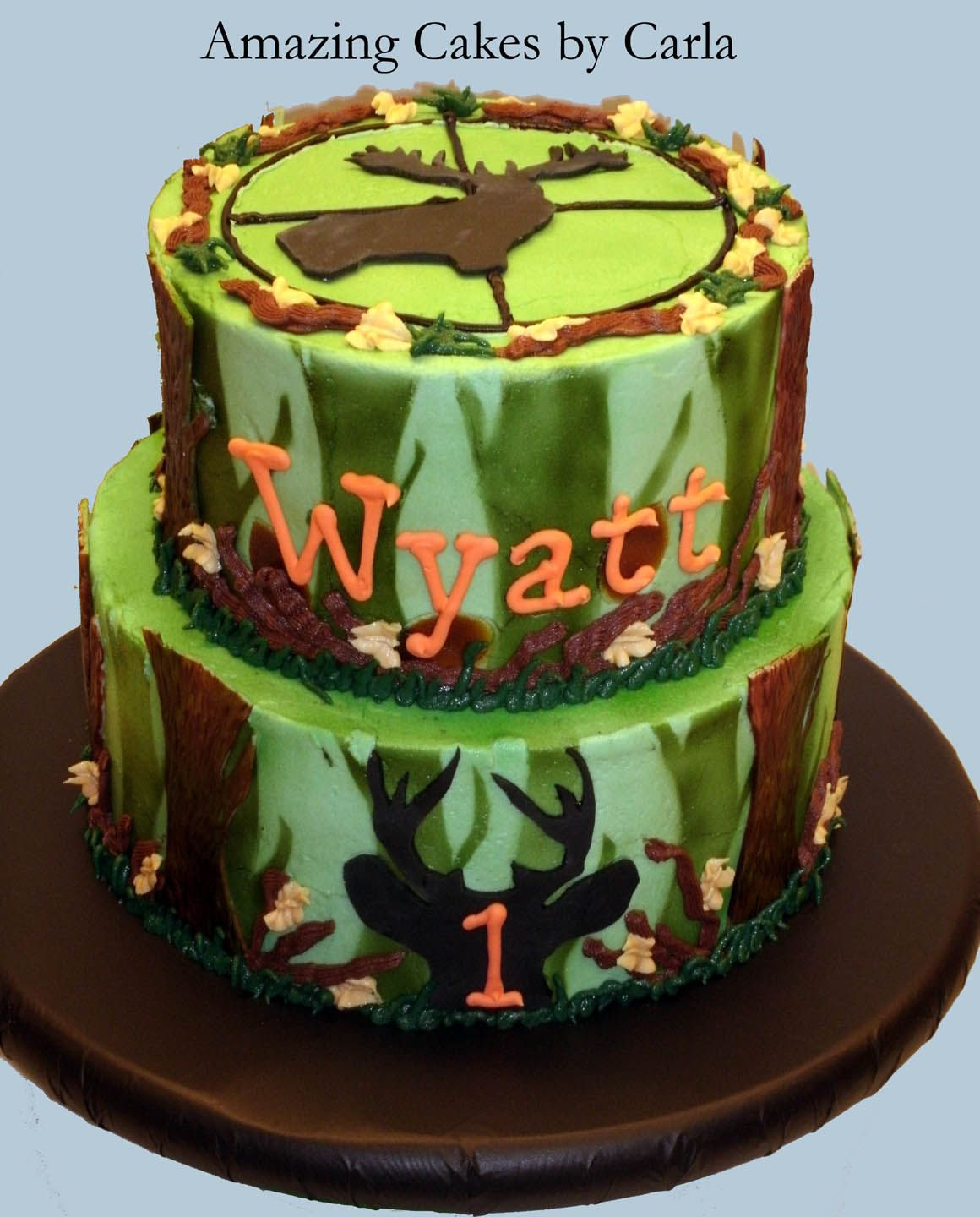 Phenomenal Hunting Cakes Google Search Hunting Birthday Cakes Birthday Funny Birthday Cards Online Overcheapnameinfo