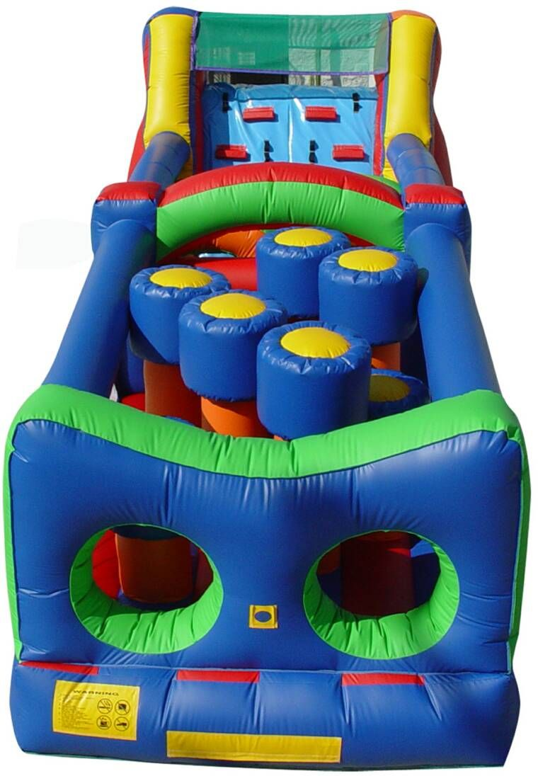 Obstacle Course great team building inflatable ride and