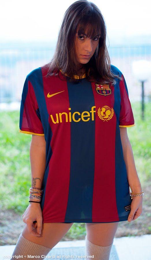cheap for discount 4871f d465a girl barcelona jersey