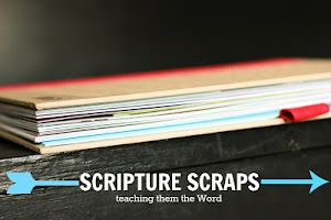 scripture book for kids to help them start learning the Word when they're young