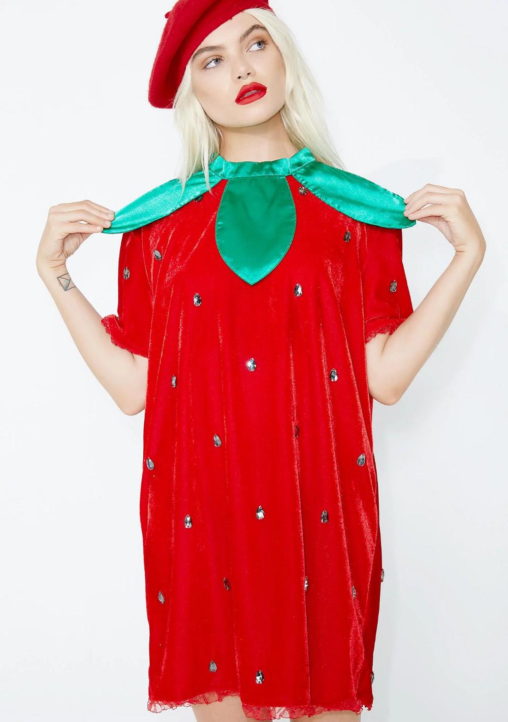 Berry Delicious Strawberry Costume in 2020 Strawberry